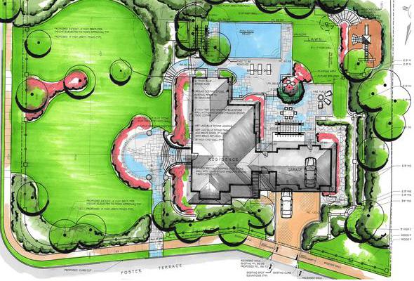 Elegant Houston Landscape Design